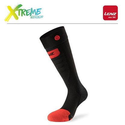 Skarpety Lenz HEAT SOCKS 5.0 TOE CAP SLIM FIT