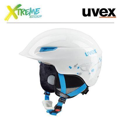 Kask Uvex Gamma WL White/Turqoise