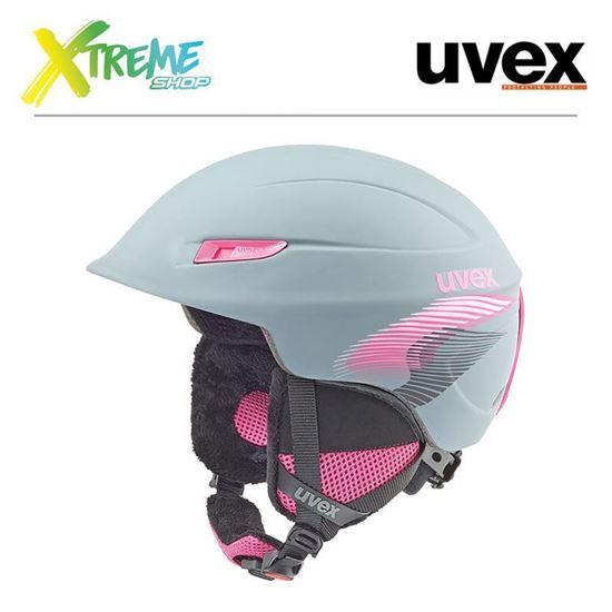 Kask Uvex Gamma WL Titanium/Pink Mat
