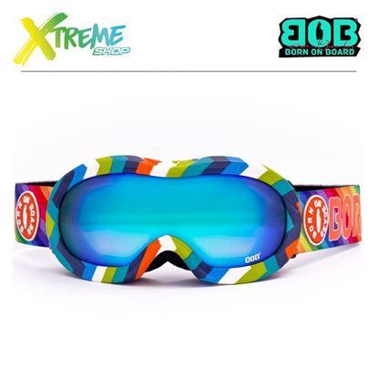 Gogle BOB Rainbow Shine