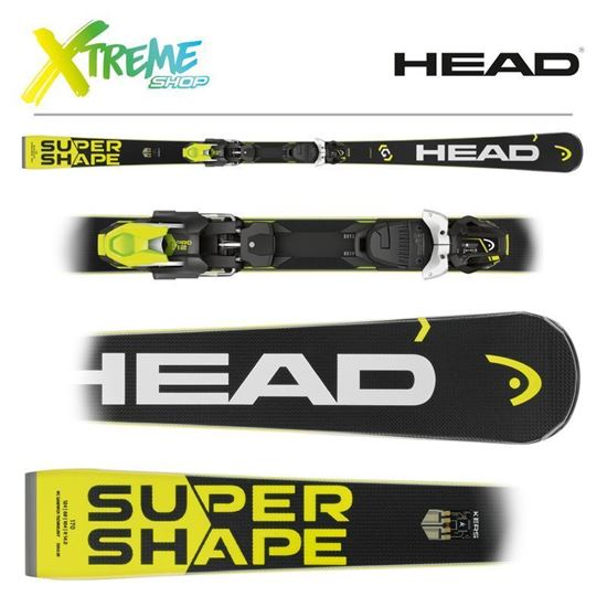 Narty Head SUPERSHAPE I.SPEED + Wiązania PRD 12