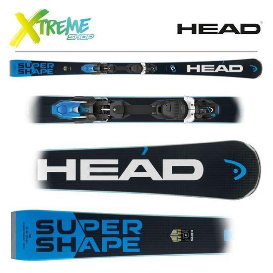 Narty Head SUPERSHAPE I.TITAN + Wiązania PRD 12