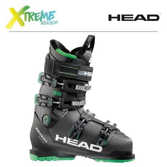 Buty narciarskie Head ADVANT EDGE 95 Anthracite/Black-Green 2018