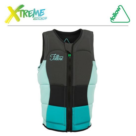 Kamizelka Follow ATLANTIS PRO LADIES JACKET Ocean 2018 1