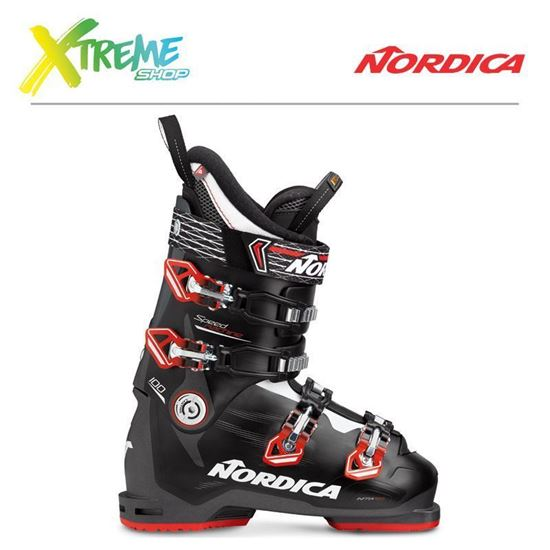 Buty narciarskie Nordica SPEEDMACHINE 100 2018 Anthracite/Black/Red