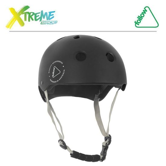 Kask wakeboard Follow SAFETY FIRST HELMET Black 2018