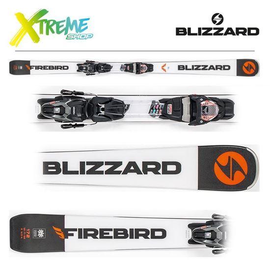 Narty Blizzard FIREBIRD TI 2019 White + Wiązania TPX10 DEMO