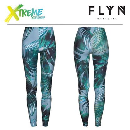 Legginsy Flyn PALMTREE LEAVES WOMAN 1