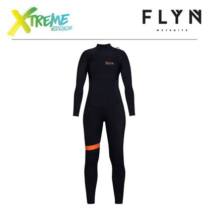 Pianka Flyn WETSUIT FRONT-ZIP LONG 5/4 WMN Black 1