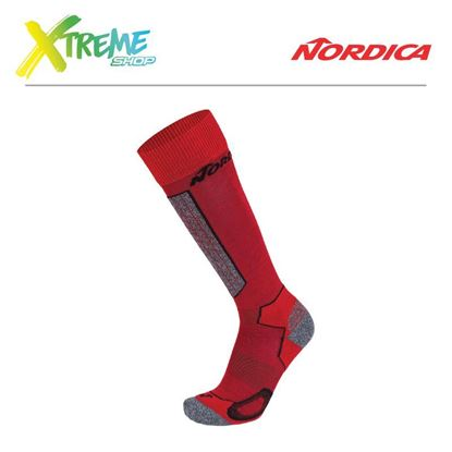 Skarpety Nordica HIGH PERFORMANCE MAN SOCKS Red/Black