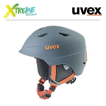 Kask UVEX AIRWING 2 PRO Titanium-Orange Mat