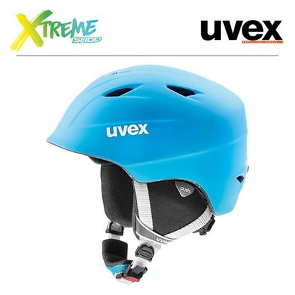 Kask UVEX AIRWING 2 PRO Liteblue-White Mat