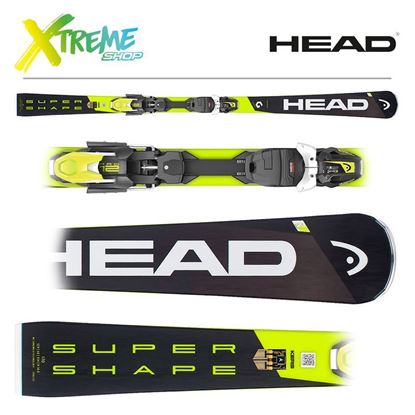 Narty Head SUPERSHAPE I.SPEED 2019 + Wiązania Head PRD 12 GW