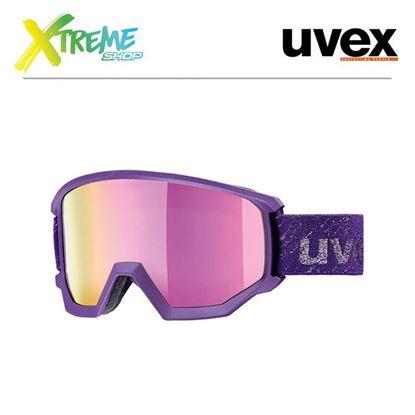 Gogle UVEX ATHLETIC FM Dark Violet Mat