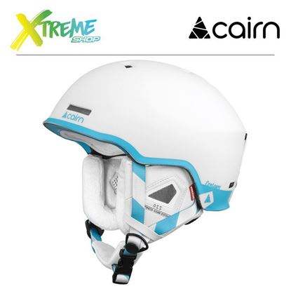 Kask Cairn CENTAURE RESCUE Mat White Turquoise