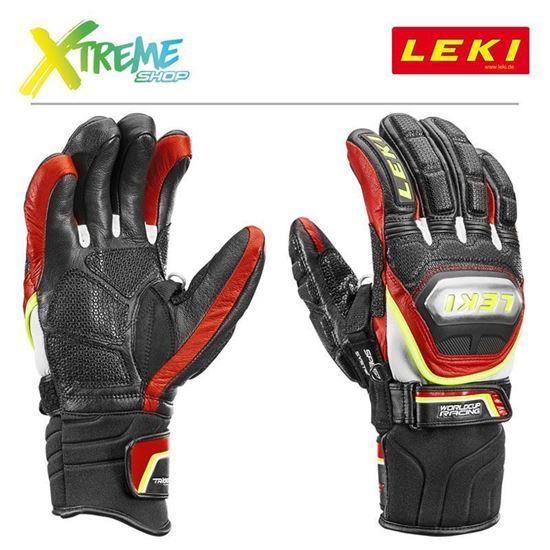 Rękawice Leki WORLDCUP RACE TI. S SPEED SYSTEM 636-80173