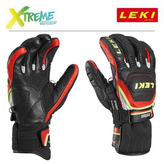 Rękawice narciarskie Leki WORLDCUP RACE FLEX S SPEED SYSTEM 634-80143
