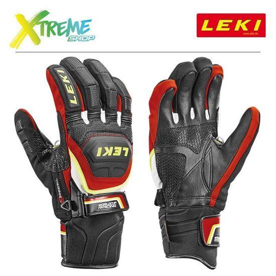 Rękawice Leki WORLDCUP RACE COACH FLEX S GTX 634-80123
