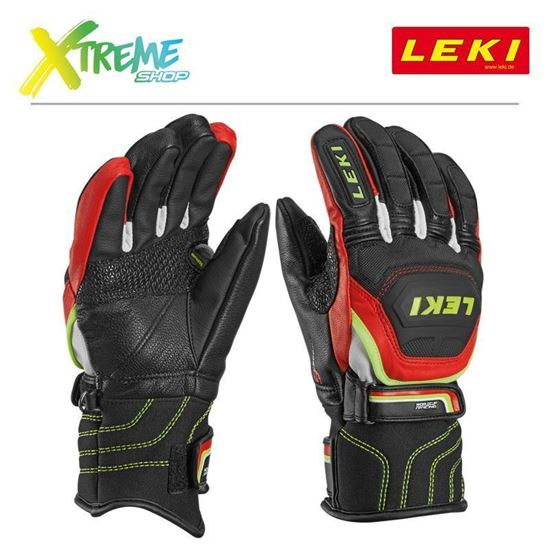 Rękawice Leki WORLDCUP RACE FLEX S JUNIOR 634-80031