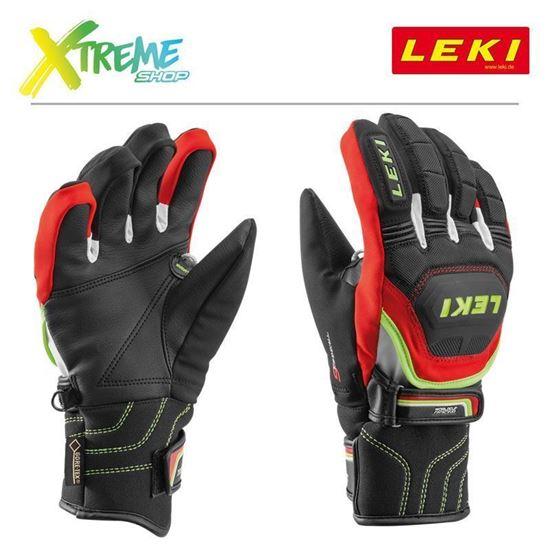 Rękawice Leki WORLDCUP RACE COACH FLEX S GTX JUNIOR 634-80121