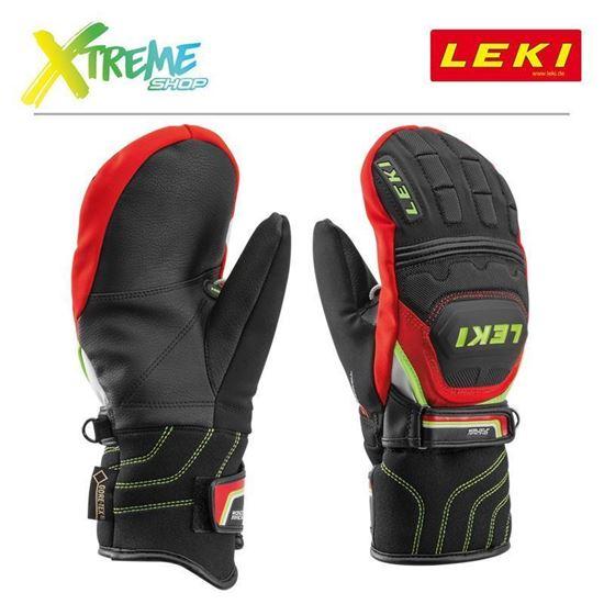 Rękawice Leki WORLDCUP RACE COACH FLEX S GTX JUNIOR MITT 634-81121