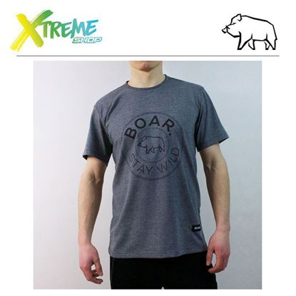 T-Shirt Boar PINION Grey 1