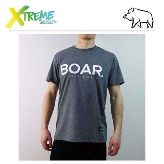 T-Shirt Boar ANCHOR Grey