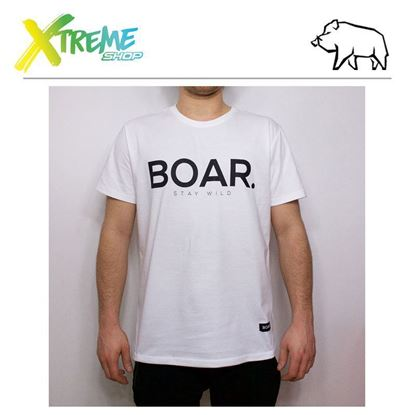 T-Shirt Boar ANCHOR White