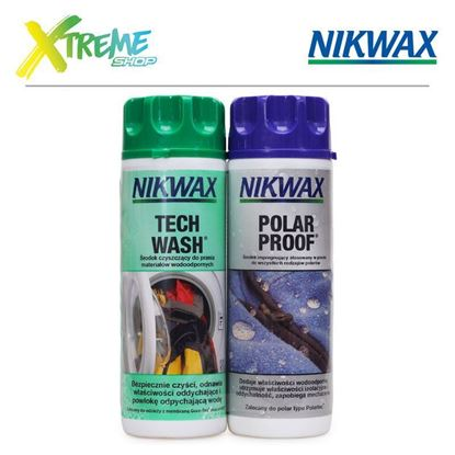 Nikwax TWIN PACK: TECH WASH / POLAR PROOF - 2 x 300ml