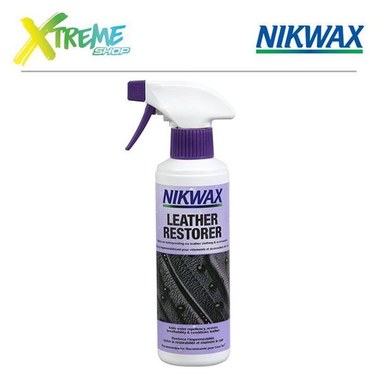 Obrazek Impregnat do skóry Nikwax LEATHER RESTORER SPRAY-ON - 300ml