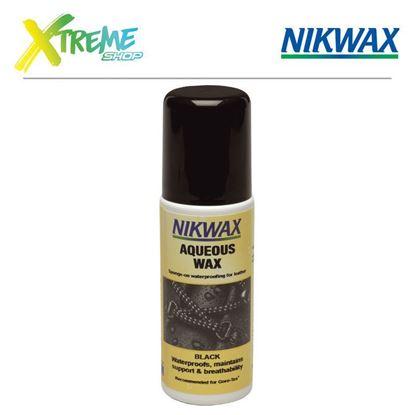 Obrazek Wosk impregnujący Nikwax AQUEOUS WAX - 125ml (czarny)