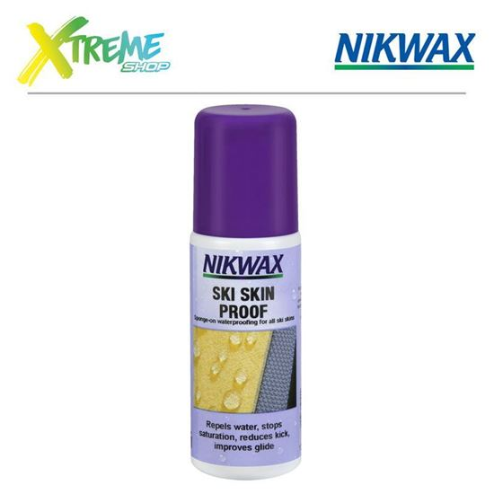 Obrazek Impregnat do fok Nikwax SKI SKIN PROOF - 125ml (gąbka)