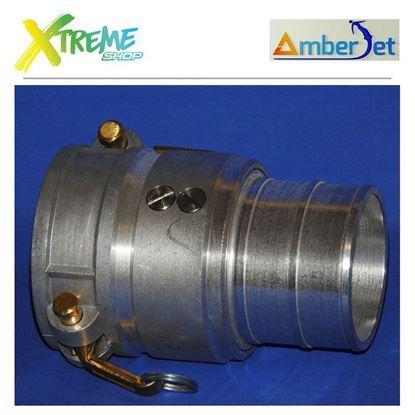 Łączówka obrotowa Camlock 360° AmberJet 1