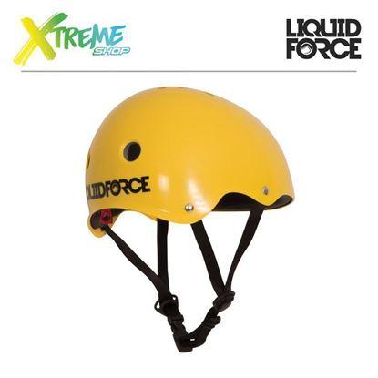 Kask wakeboardowy Liquid Force DROP KIDS Yellow 2017