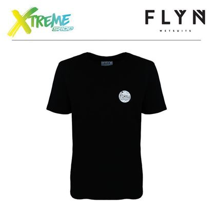 T-Shirt Flyn FCHILL BLACK MAN 1