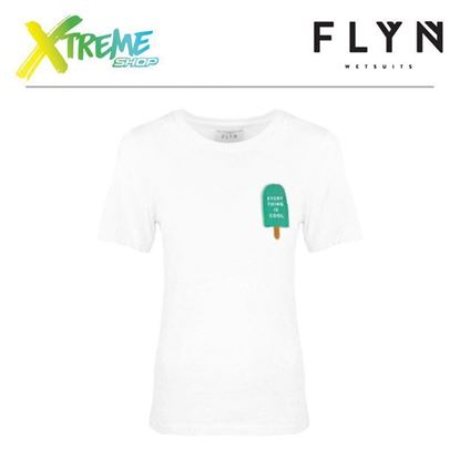 T-Shirt Flyn ICE CREAM WHITE WOMAN 1