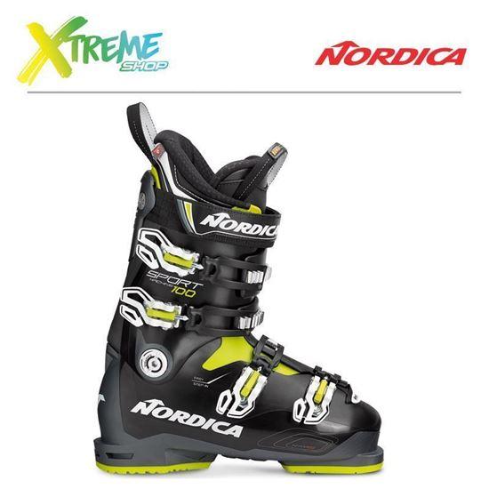 Buty narciarskie Nordica SPORTMACHINE 100 2019 Anthracite/Black/Lime