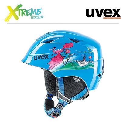Kask Uvex Airwing II Blue Dragon
