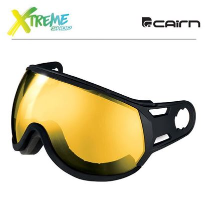 Szyba Cairn Visor Polarized Yellow Black - Yellow PZ