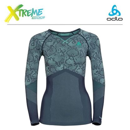 Koszulka damska Odlo Evolution Blackcomb Warm 170951/20346 1