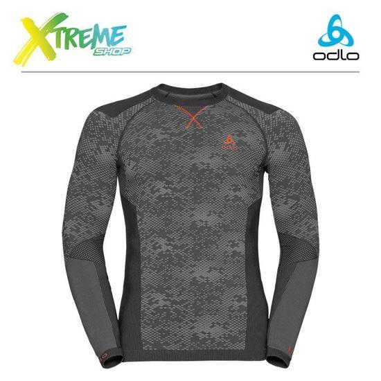 Koszulka męska Odlo Evolution Blackcomb Warm 170982/60105 1