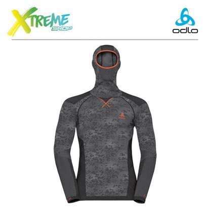 Koszulka męska Odlo Evolution Blackcomb Warm 170992/60105 1