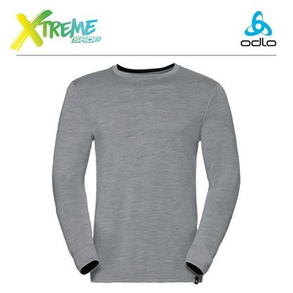 Koszulka męska Odlo SUW TOP 100% MERINO 110412/15701 1