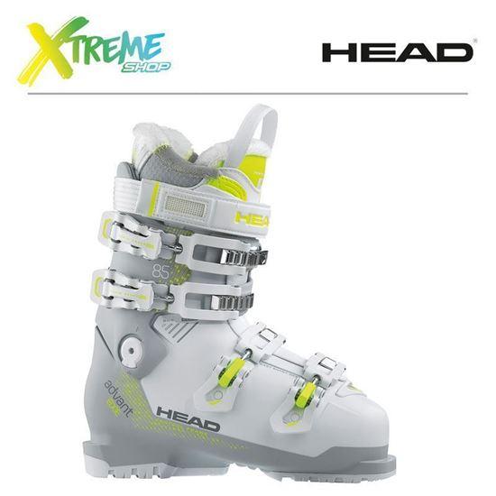 Buty narciarskie Head ADVANT EDGE 85 W White/Gray-Yellow
