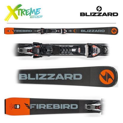 Narty Blizzard FIREBIRD COMPETITION 2019 + Wiązania TPX12 DEMO