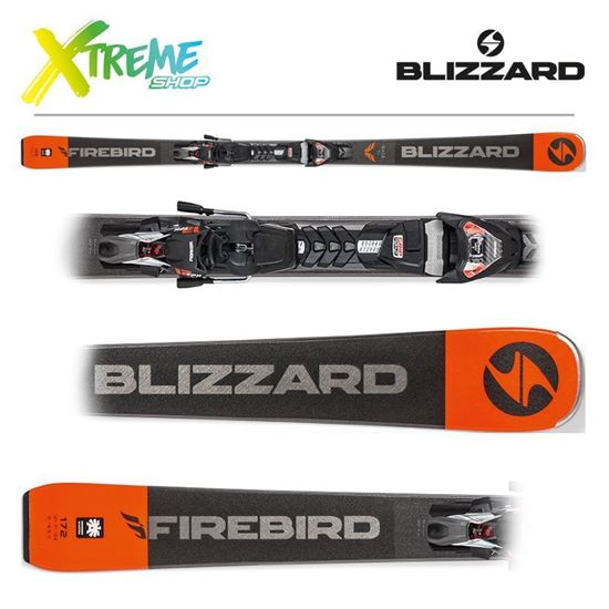 Narty Blizzard RACE TI 2019 Black + Wiązania TPX12 DEMO
