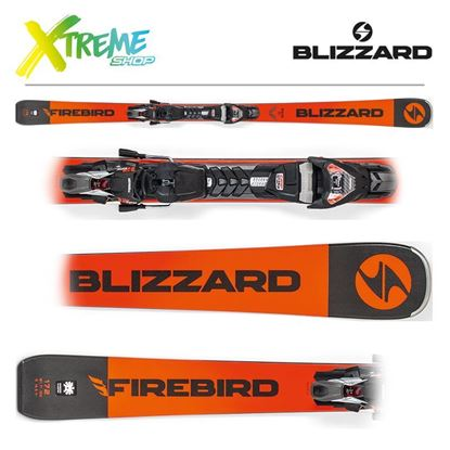 Narty Blizzard RACE TI 2019 Orange + Wiązania TPX12 DEMO