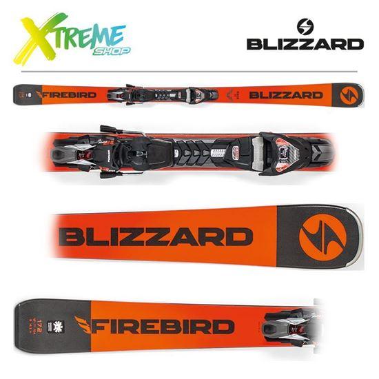 Narty Blizzard RACE TI 2019 Orange + Wiązania TPX12 DEMO