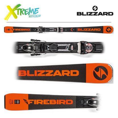 Narty Blizzard FIREBIRD TI 2019 Black + Wiązania TPX10 DEMO