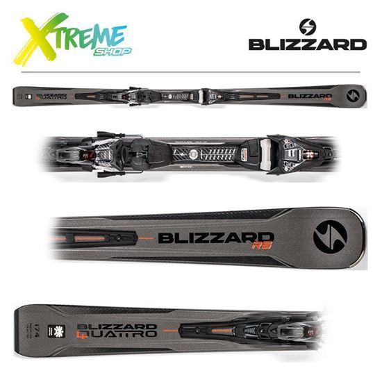Narty Blizzard QUATTRO RS 2019 + Wiązania XCELL14 DEMO